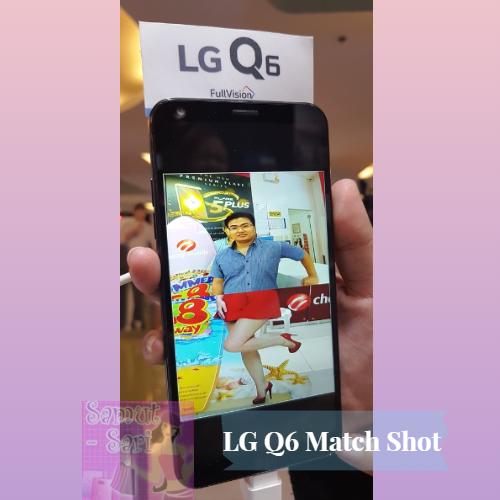 LG Q6 Match Shot