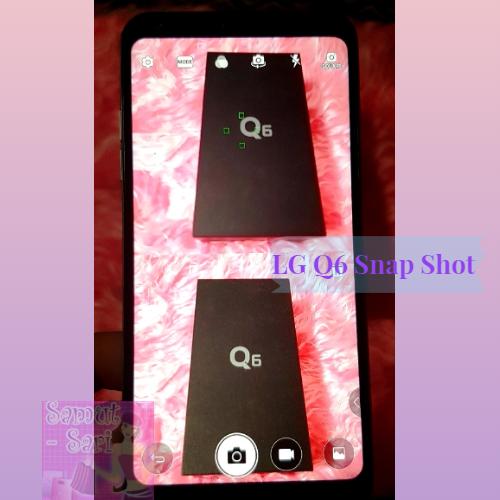 LG Q6 Snap Shot