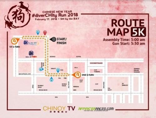 DiverCHIty 5k route map