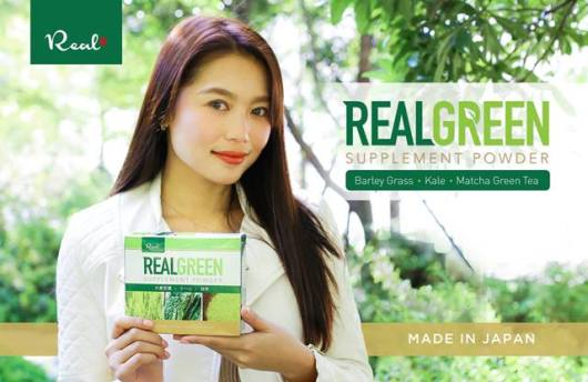 Real Green Supplement Powder now available in the Philippines