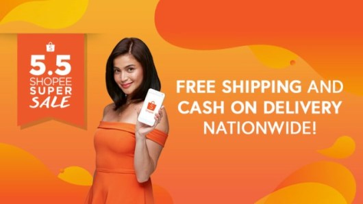 Shopee 5.5 Anne Curtis