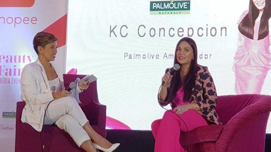 Shopee Beauty Fair Maybelline Palmolive Promotes Women Empowerment KC Concepcion