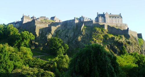 Edinburgh Castle from the North