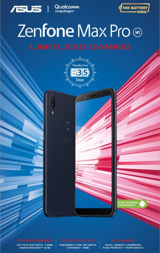 ZenFone Max Pro - Limitless Gaming