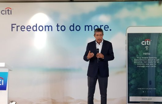 Citi Philippines CEO Aftab Ahmed CITI Mobile App Gives You #FreedomToDoMore
