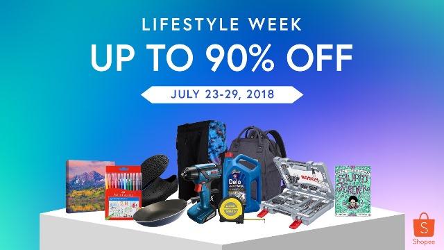 Shopee lifestyle week