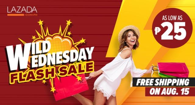 Lazada Wild Wednesday Flash Sale