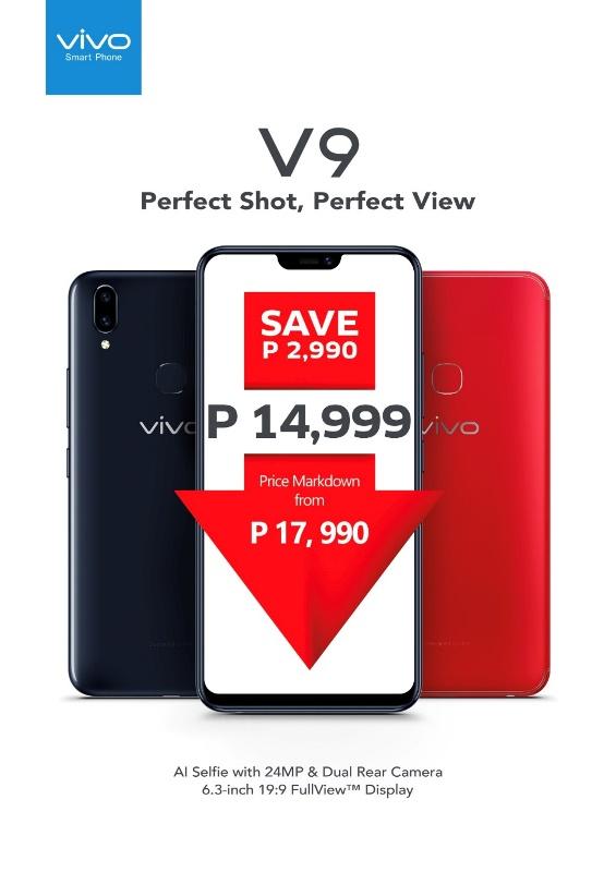 VIVO V9 Price Drop