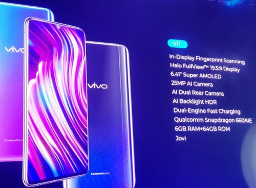 Vivo V11 Tap the Future Stellar Launch