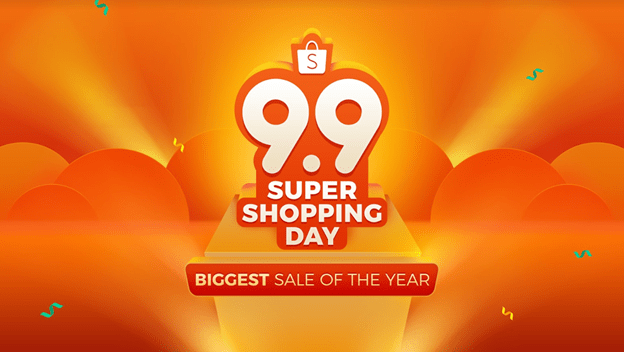 Shopee 9.9 Super Shopping Day & Win ₱15M in Giveaways
