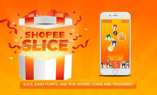 Newest Shopee Slice In-App Game and Mega Orange Day Sale