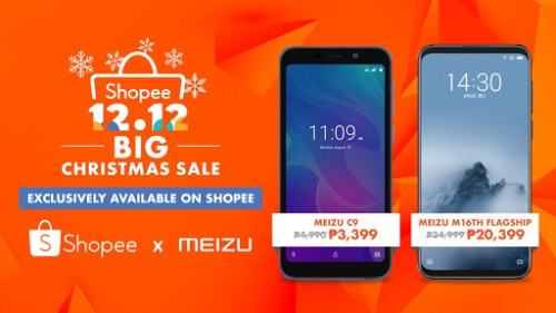 Meizu Shopee 12.12 Big Christmas Sale