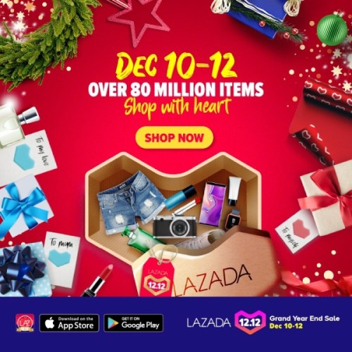 Lazada 12.12 Grand Year End Sale