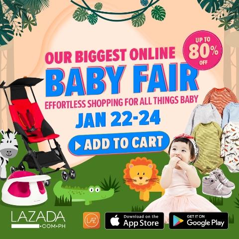 Lazada Baby Fair