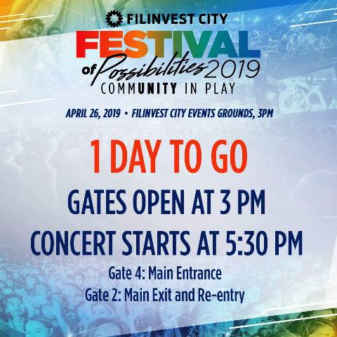 Filinvest City Festival of Possibilities 2019