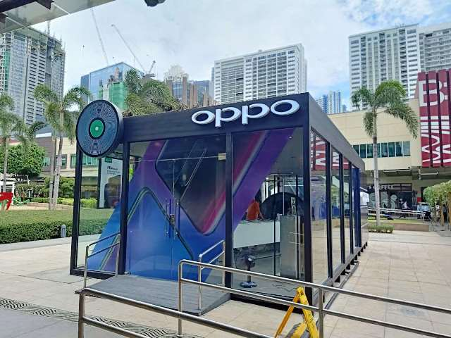 OPPO Lifestyle Popup Store BGC