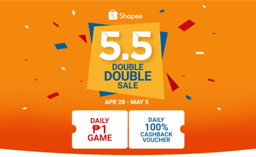 Shopee Double Double Sale
