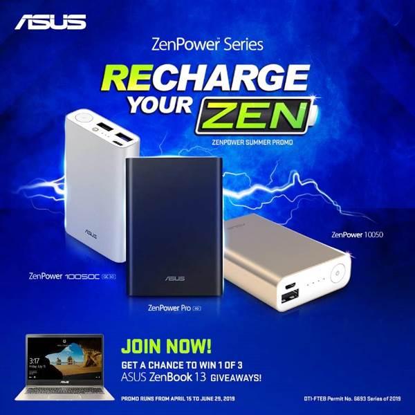 Recharge Your ZEN Promo