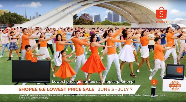 Sarah Geronimo TVC Shopee Philippines