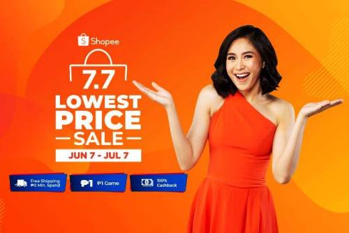 Shopee Pop Star Search Shopee 7.7