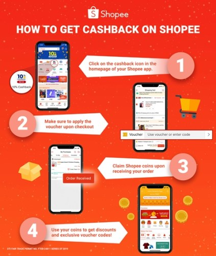 Shopee New Year Cashback