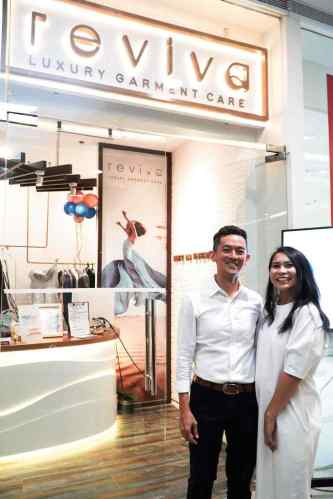 Charmaine Ang, Managing Director and Caloy Ang, Co-founder of Reviva