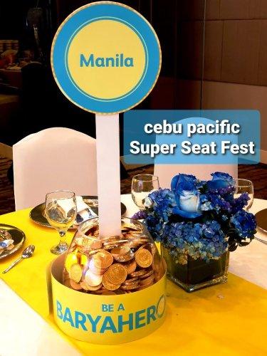 Cebu Pacific Seat Fest