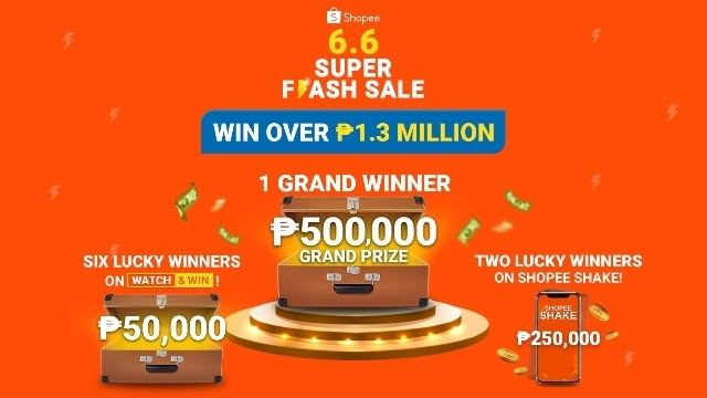 Shopee 6.6 Super Flash Sale