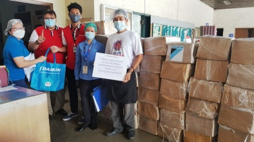 Daikin Philippines Lung Center donation