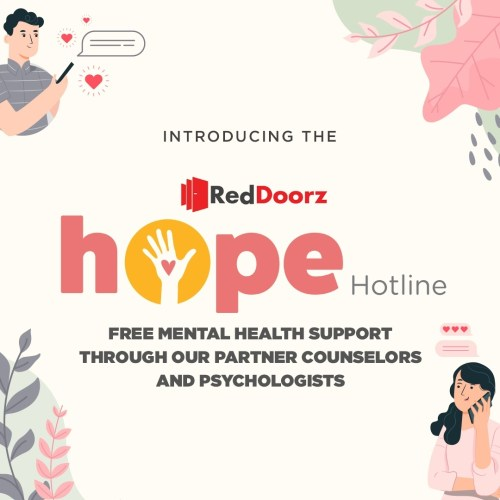 RedDoorz Hope Hotline