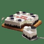 Cookies & Cream Dedication Cake