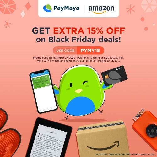 PayMaya Amazon Partnership