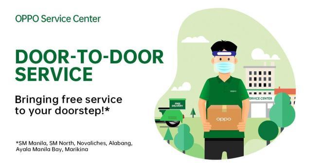 OPPO Door-to-door Service