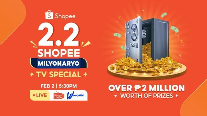 Shopee 2.2 Shopee Milyonaryo TV Special