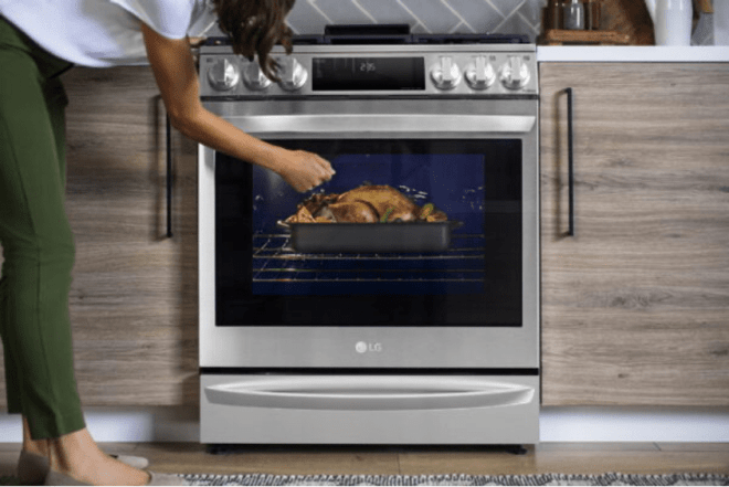 The 2021 LG InstaView Range with Air Sous Vide Oven