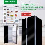 19.8CU.FT XTREME Cool Side-by-Side Inverter Refrigerator