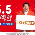 Shopee 5.5 Brands Festival Sale Extended
