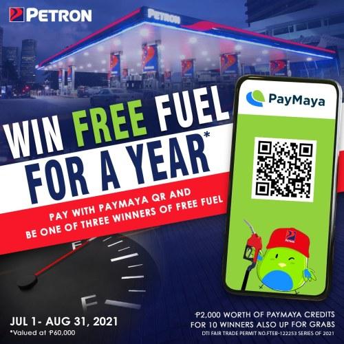 PayMaya Petron QR Promo
