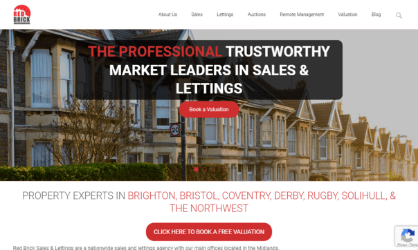 Redesigning a Website for Red Brick Sales & Lettings: A Case Study