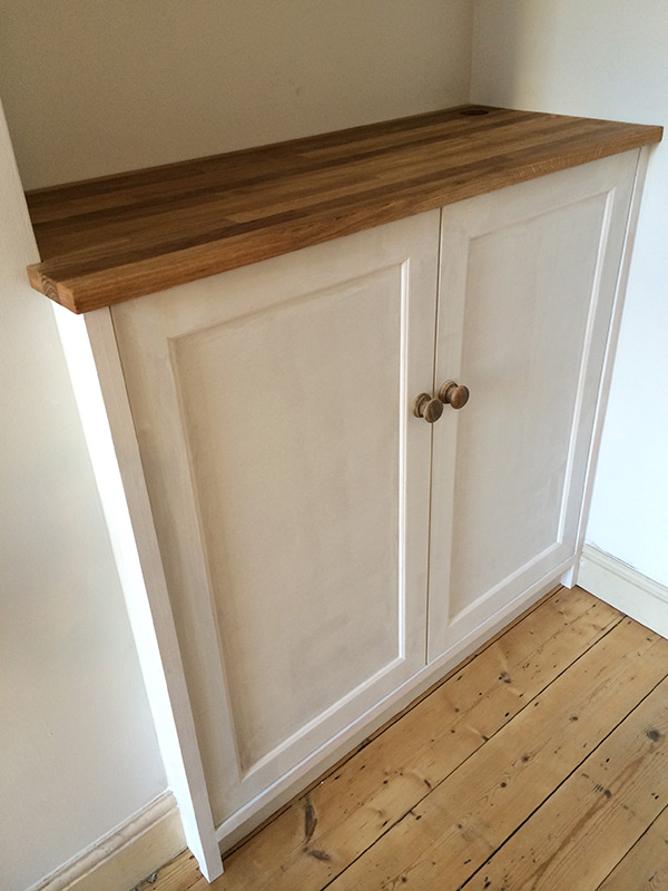 Builtin furniture designed and made by Sam Wiltshire