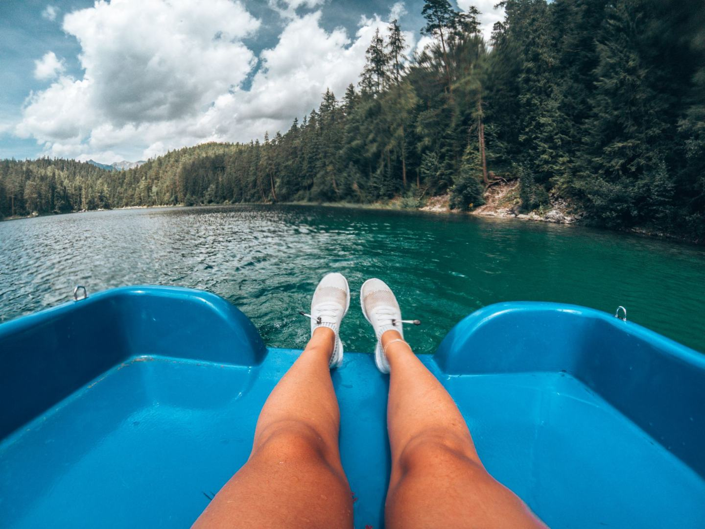 Paddle Boat Eibsee