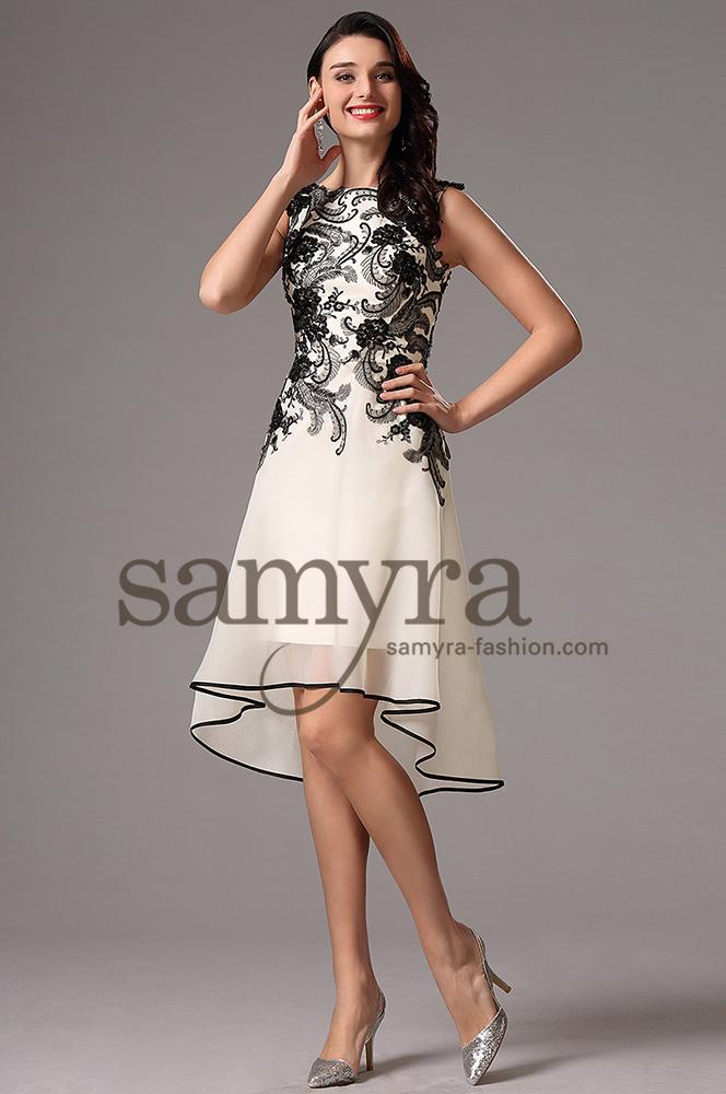 Cocktailkleid kurzlang  Samyra Fashion