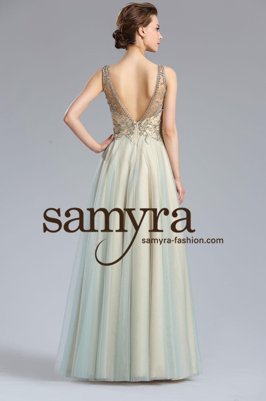 BallkleidStandesamtkleid mit Tll  Samyra Fashion