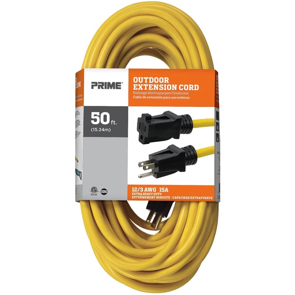 Prime 50 Ft 12 3 Sjtw Outdoor Extension Cord