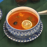 La sopa rusa Solianka
