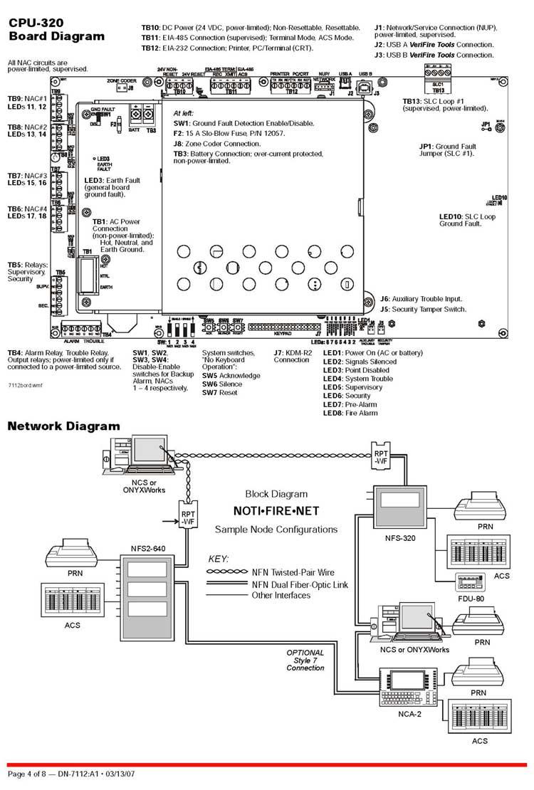 Nfs 320 Wiring Diagram - Wiring Schematics Fcm Wiring Diagram on