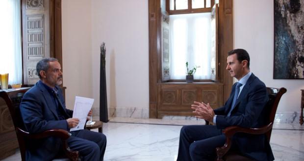 presidente entrevista con Khabar