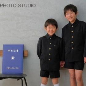 兄弟写真 卒業記念