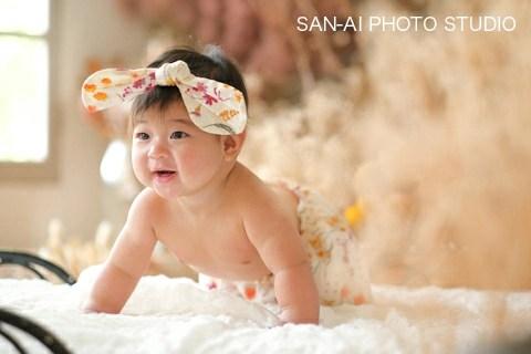 ハーフバースデー 6ヶ月 赤ちゃん