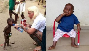África salvaje - milagro de Hope - el niño embrujado